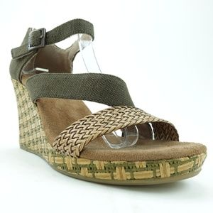 Toms Women Wedge Sandals Casual R10S7